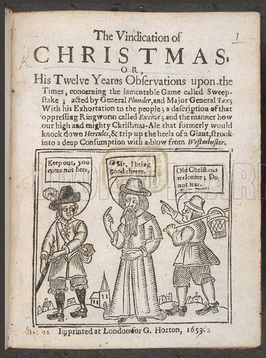 The Foods of England - Christmas Banned by Puritans