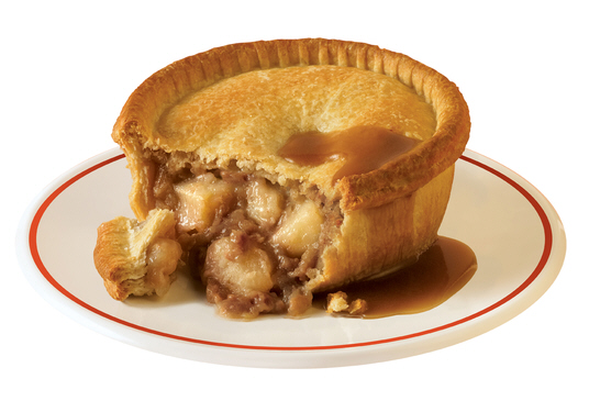 A Very Traditional Potato And Meat Pie Image Www Hollandspies Co Uk