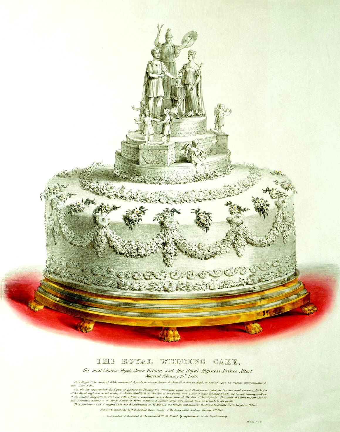 Victorian Wedding Cake Knife